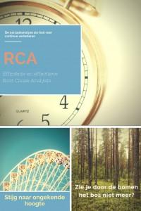 Efficiënte en effectieve RCA