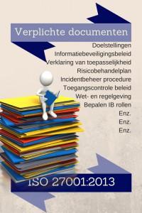 Verplichte documenten ISO 27001